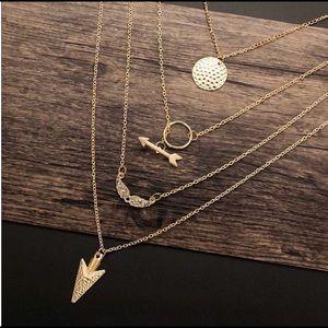 Boho Layered Gold Necklaces